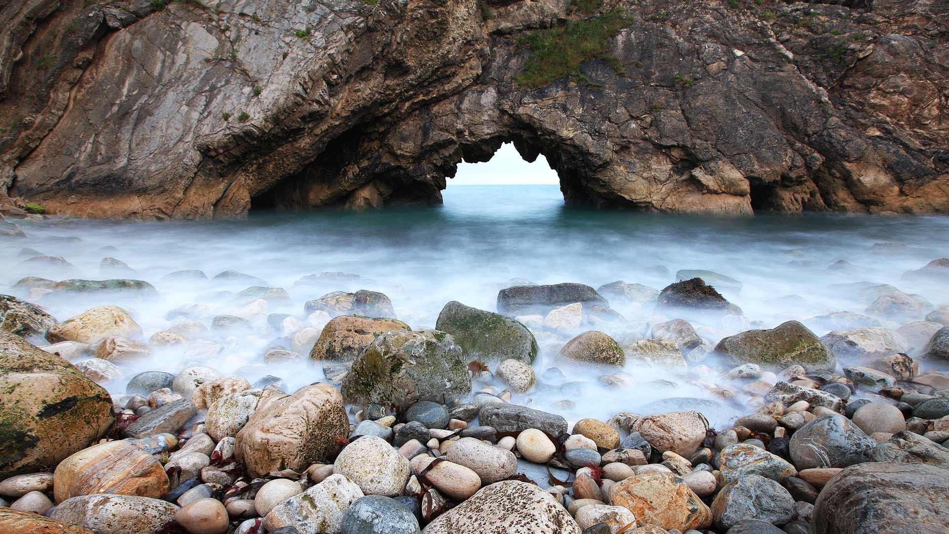 скалы арка камни море без регистрации